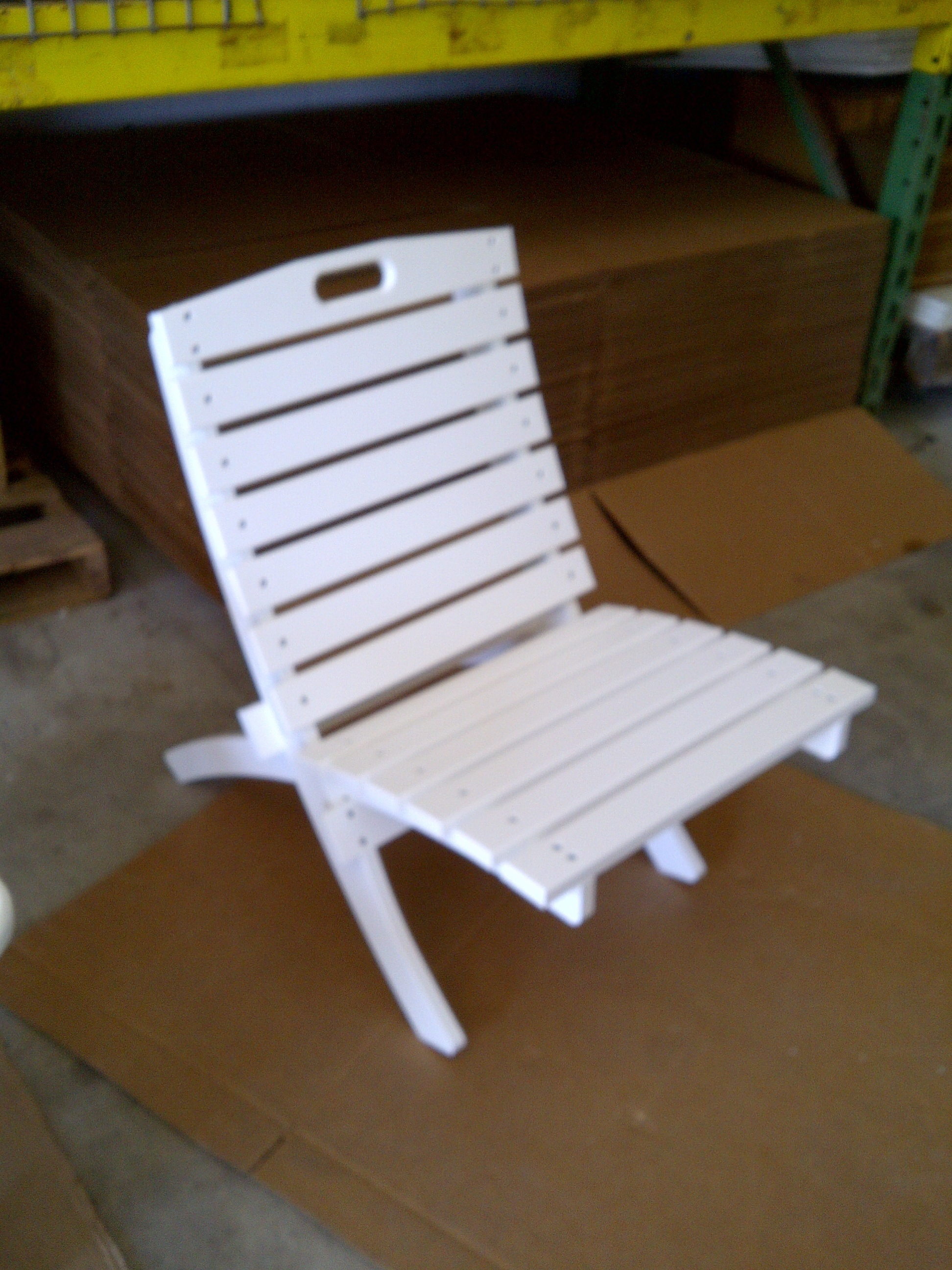 Fold Up Plastic Patio Chair