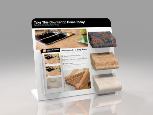 Point of Sale Counter Top display